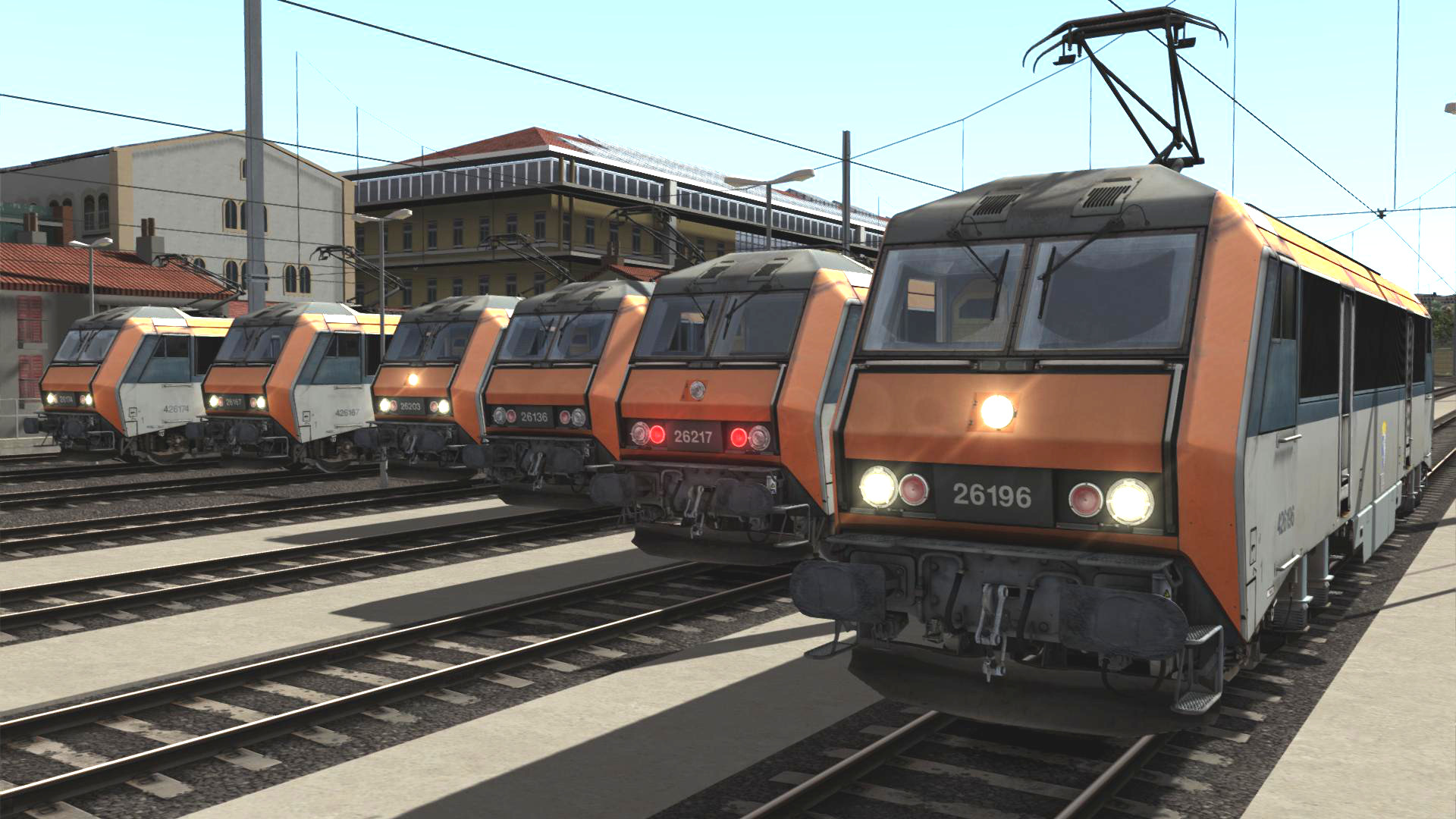BB 26000 SimExpress SNCF TS2019 Train Simulator locomotive