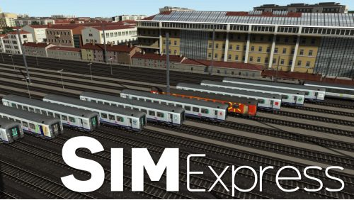 Corail TER TS2017 Simexpress