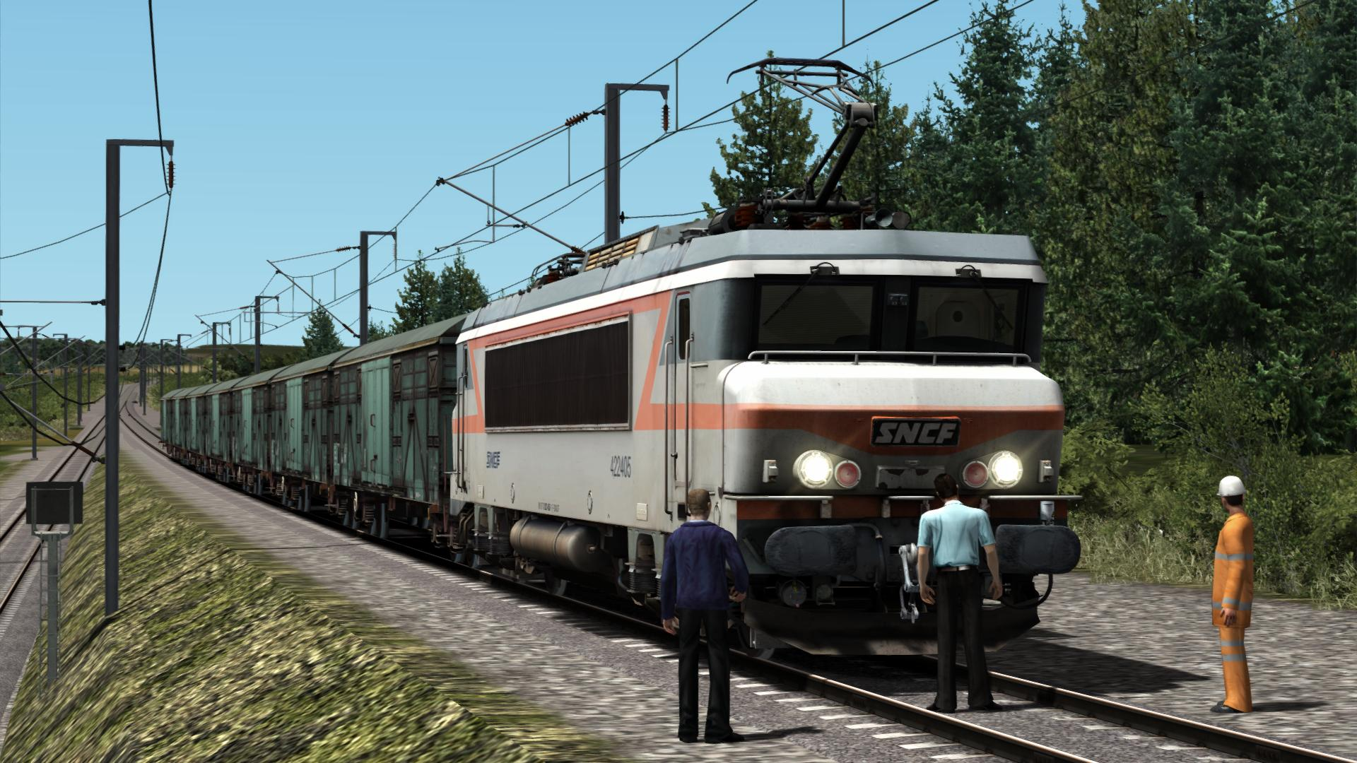 BB22200 TVM TGV LGV Cab signal sncf TS2020 add-on SimExpress