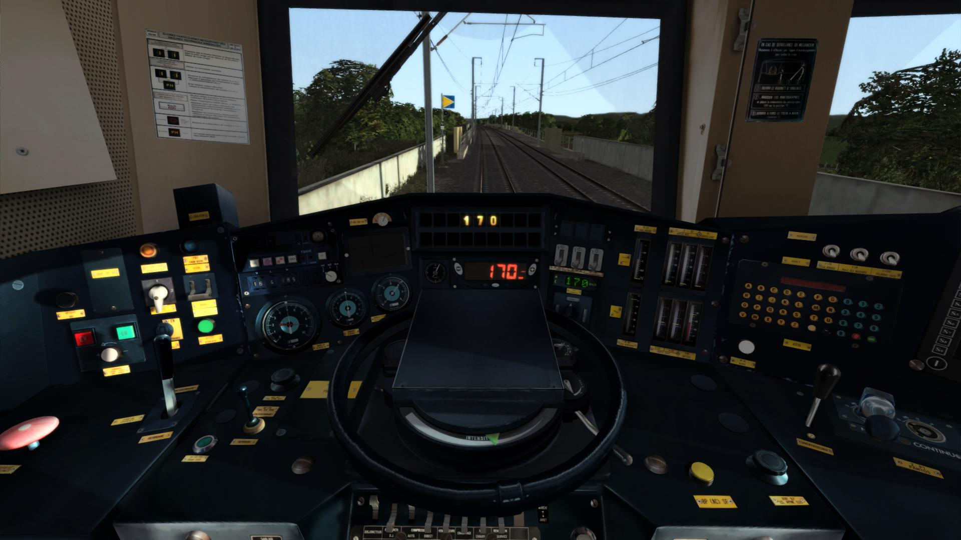 BB22200 TVM pupitre lgv sncf TS2020 add-on SimExpress